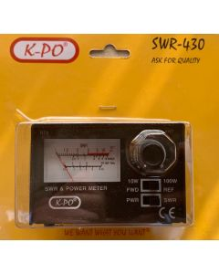 KPO SWR-430 SWR- & Power-Meter