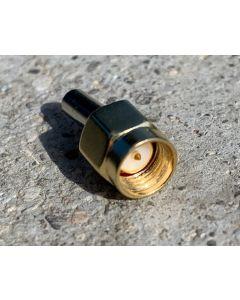SMA Stecker Crimp für 3mm Koaxialkabel