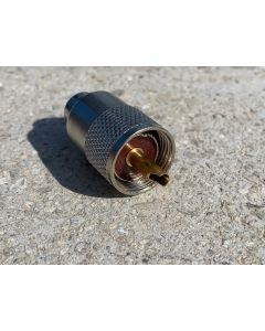 UHF/PL-Stecker PL 259 G für 5mm Koaxialkabel
