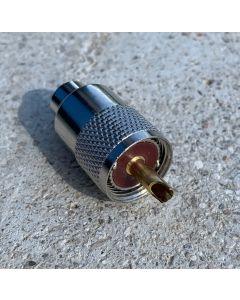 UHF/PL-Stecker PL 259 G für 10mm Koaxialkabel