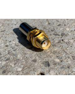 SMA Buchse Crimp für 5mm Koaxialkabel