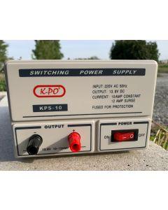 K-PO KPS-10 10-12 Ampere Schaltnetzteil 13,8 Volt DC